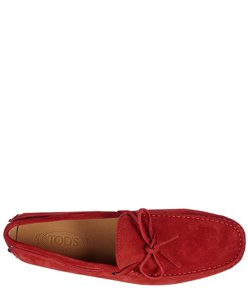 Men's suede loafers moccasins gommini 122 secondary image