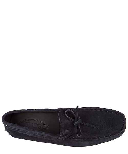 Wildleder mokassins herren slipper laccetto gommini secondary image