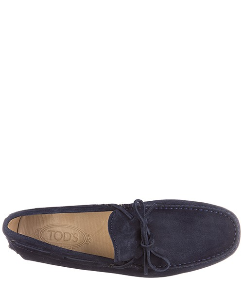 Men's suede loafers moccasins laccetti secondary image