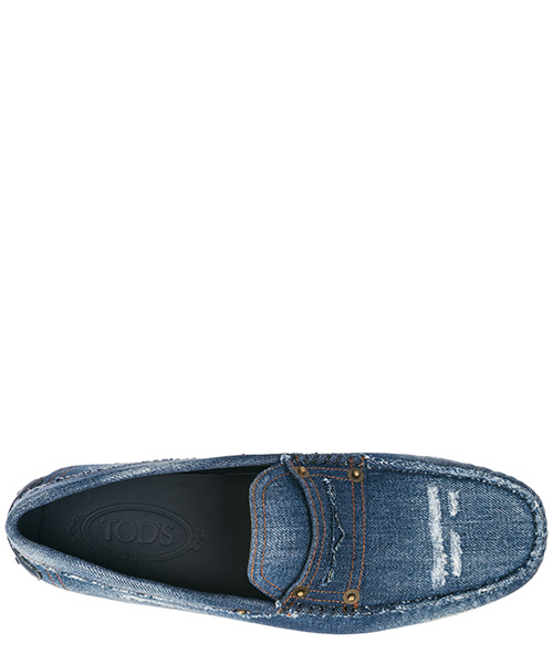 Baumwolle mokassins herren slipper gommino secondary image