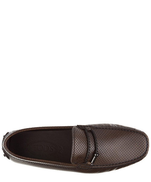 Herren leder mokassins slipper  morsetto club gommini 122 secondary image
