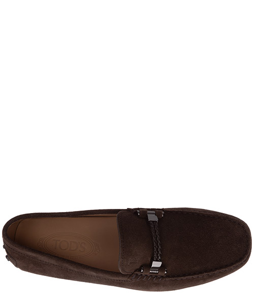 Wildleder mokassins herren slipper gommino secondary image