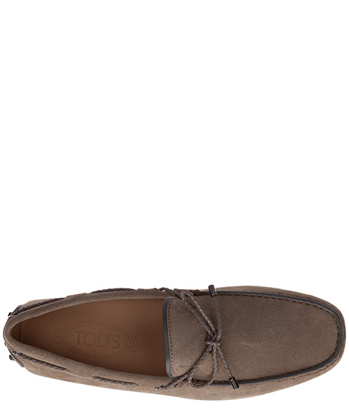 Wildleder mokassins herren slipper laccetto gommino secondary image