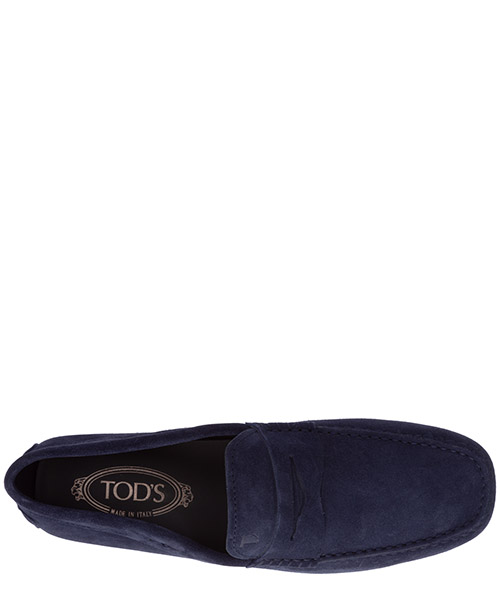 Men's suede loafers moccasins city gommino secondary image