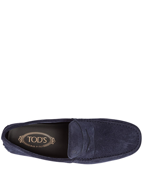 Men's suede loafers moccasins city secondary image