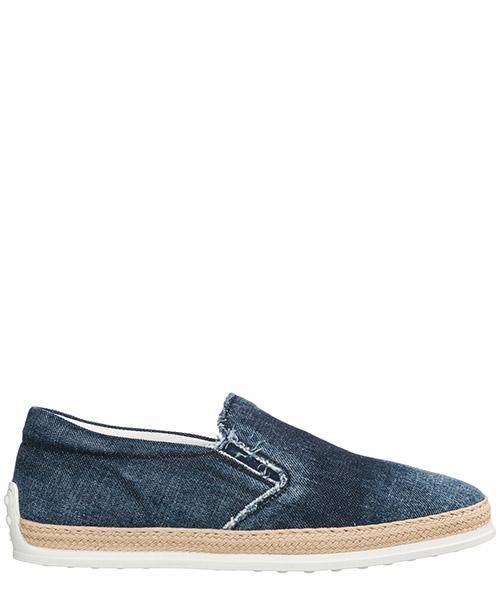 Slip-on shoes Tod's xxm0tv0k900jdlu808 blu
