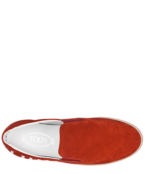 Slip on uomo in camoscio sneakers secondary image