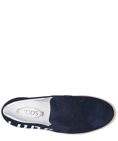 Herren wildleder slip on slipper sneakers secondary image