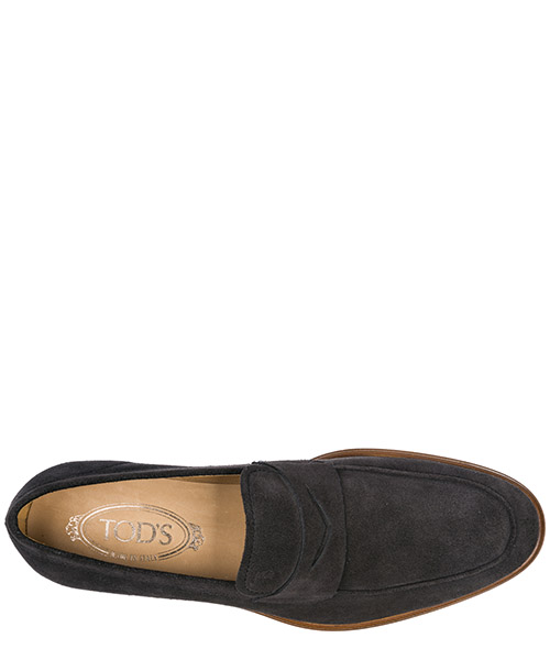 Men's suede loafers moccasins secondary image