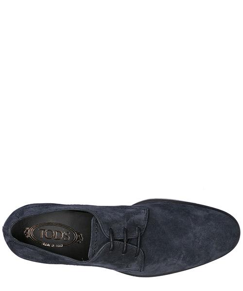 классические туфли на шнурках мужские замшевые derby secondary image