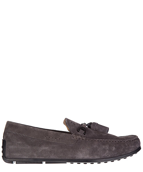 Mocasines Tod's Double T XXM0VH0S430RE0B408 cenere