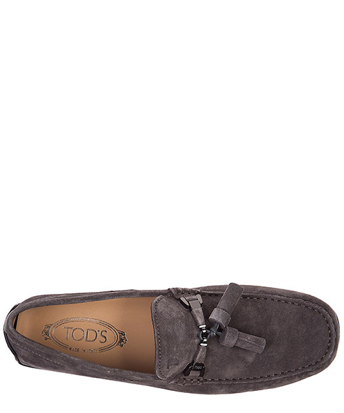 Mocassins homme en daim double t nappine secondary image