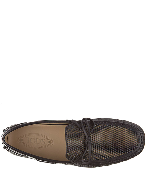 Herren leder mokassins slipper  laccetto burlotto gommini secondary image