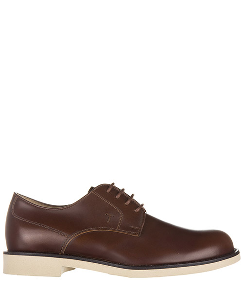 Lace up shoes Tod's XXM0WP00C20BRXS003 cuoio
