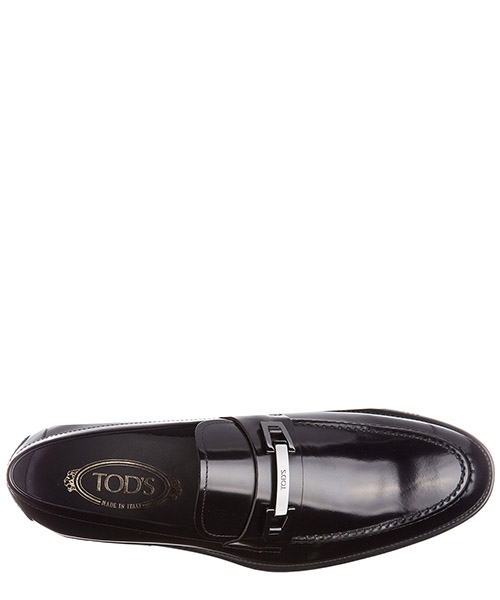 Mocassins homme en cuir  macro clamp secondary image