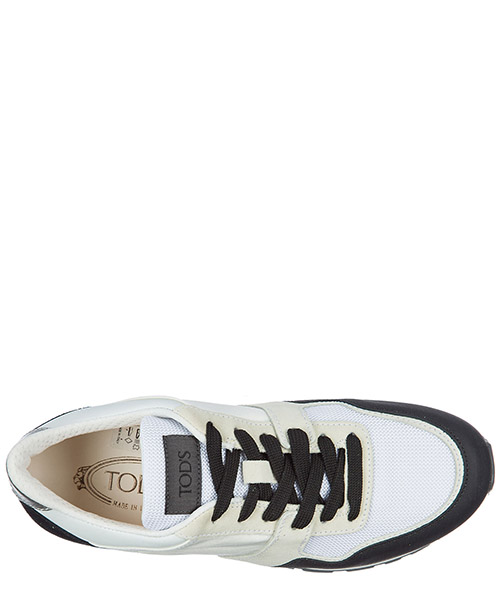 Chaussures baskets sneakers homme en daim spoiler secondary image
