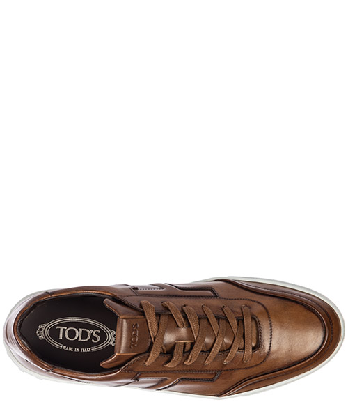 Chaussures baskets sneakers homme en cuir secondary image