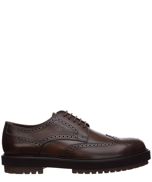 Lace-up shoes Tod's - XXM0ZW00C10D9CS801 cacao