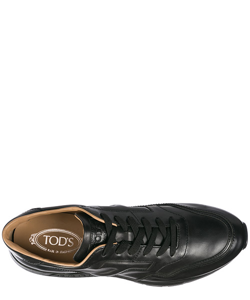 Zapatos zapatillas de deporte hombres en piel active secondary image