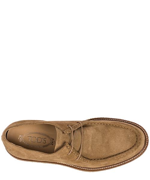 Clásico zapatos de cordones en ante hombres secondary image