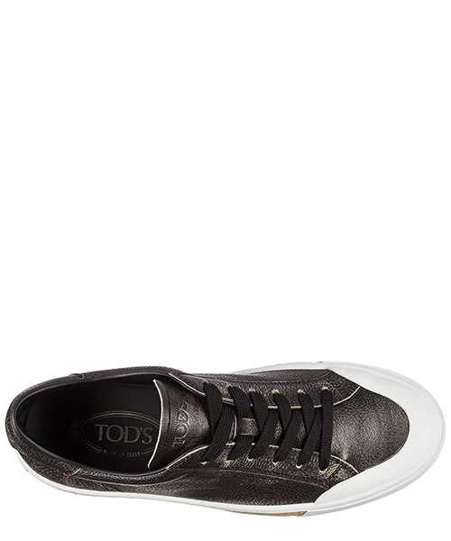 Chaussures baskets sneakers homme en cuir cassetta gomma secondary image