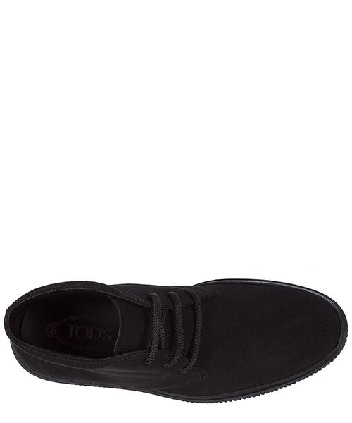 Polacchine stivaletti scarpe uomo camoscio secondary image