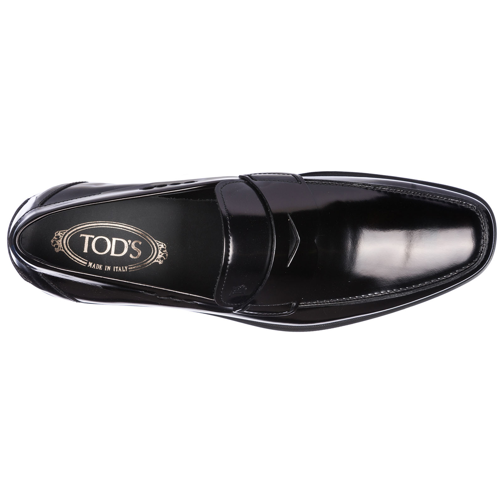 Men's leather loafers moccasins