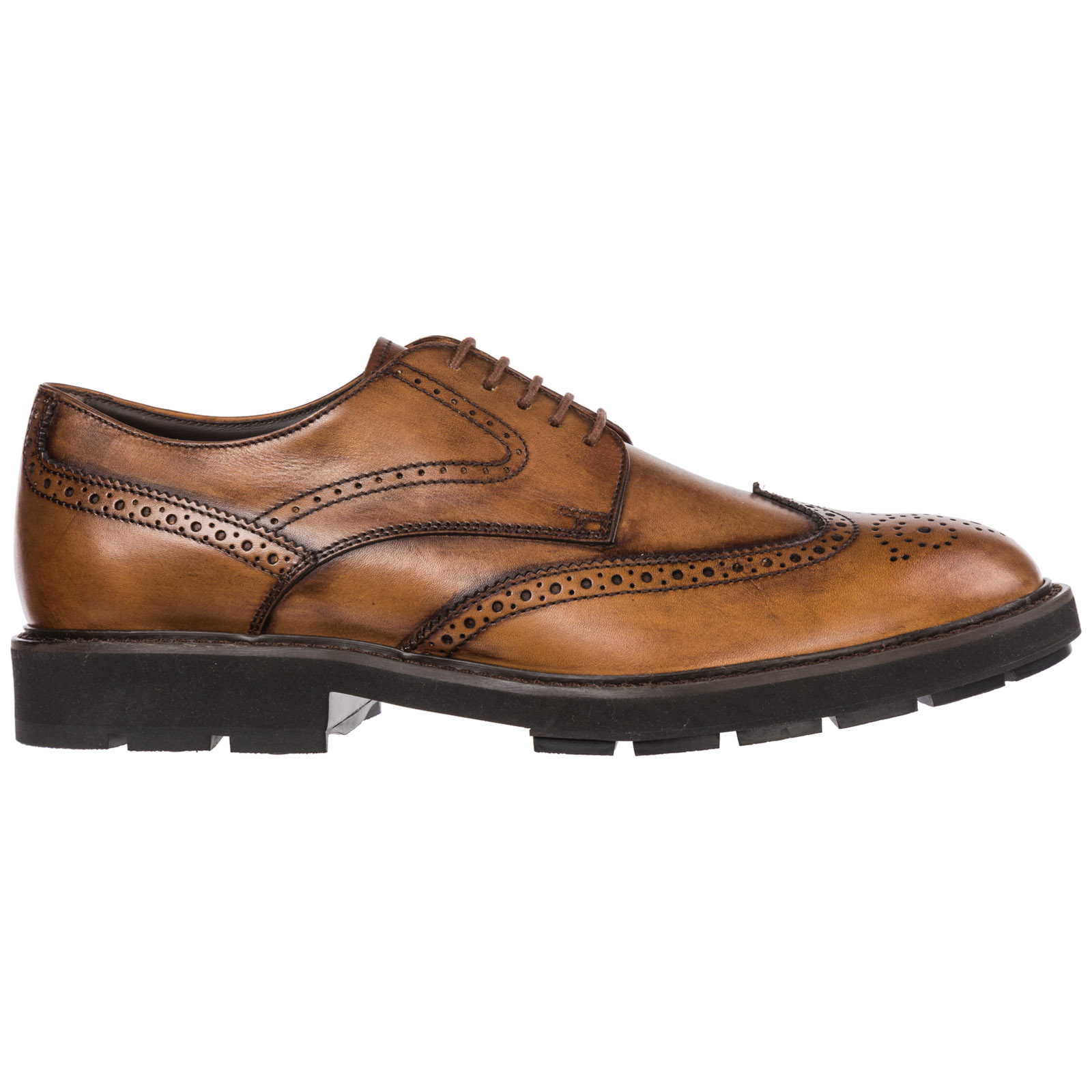 ac4bc64350 Men's classic leather lace up laced formal shoes brogue ...