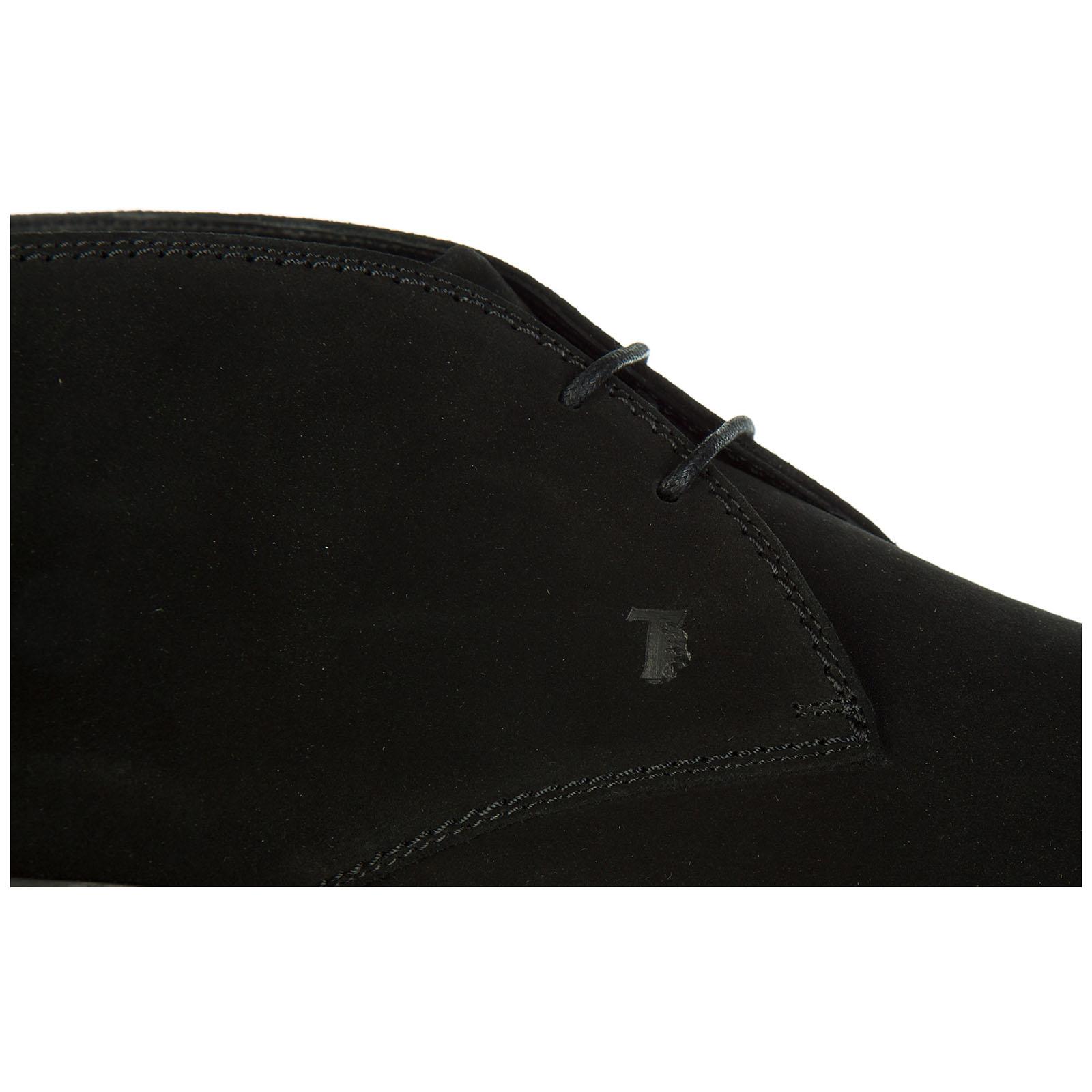 Botines zapatos en ante hombres