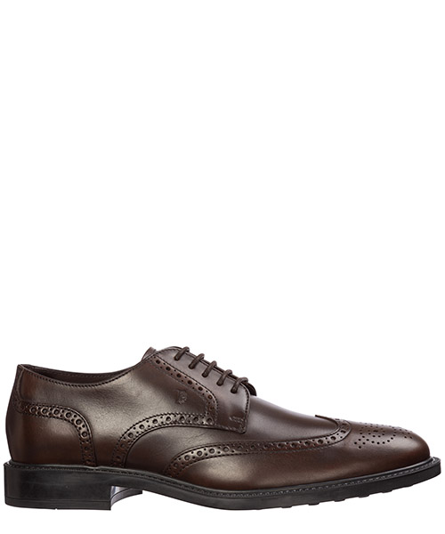 Zapatos con cordones Tod's xxm45a00c10d90s800 marrone
