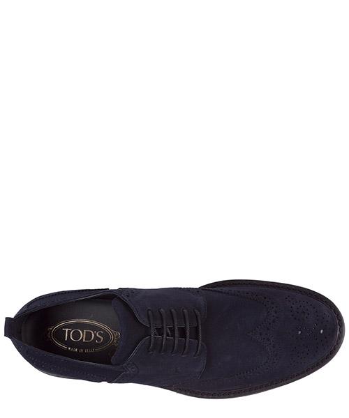 Clásico zapatos de cordones en ante hombres derby secondary image
