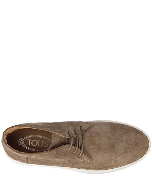 Botines zapatos en ante hombres secondary image