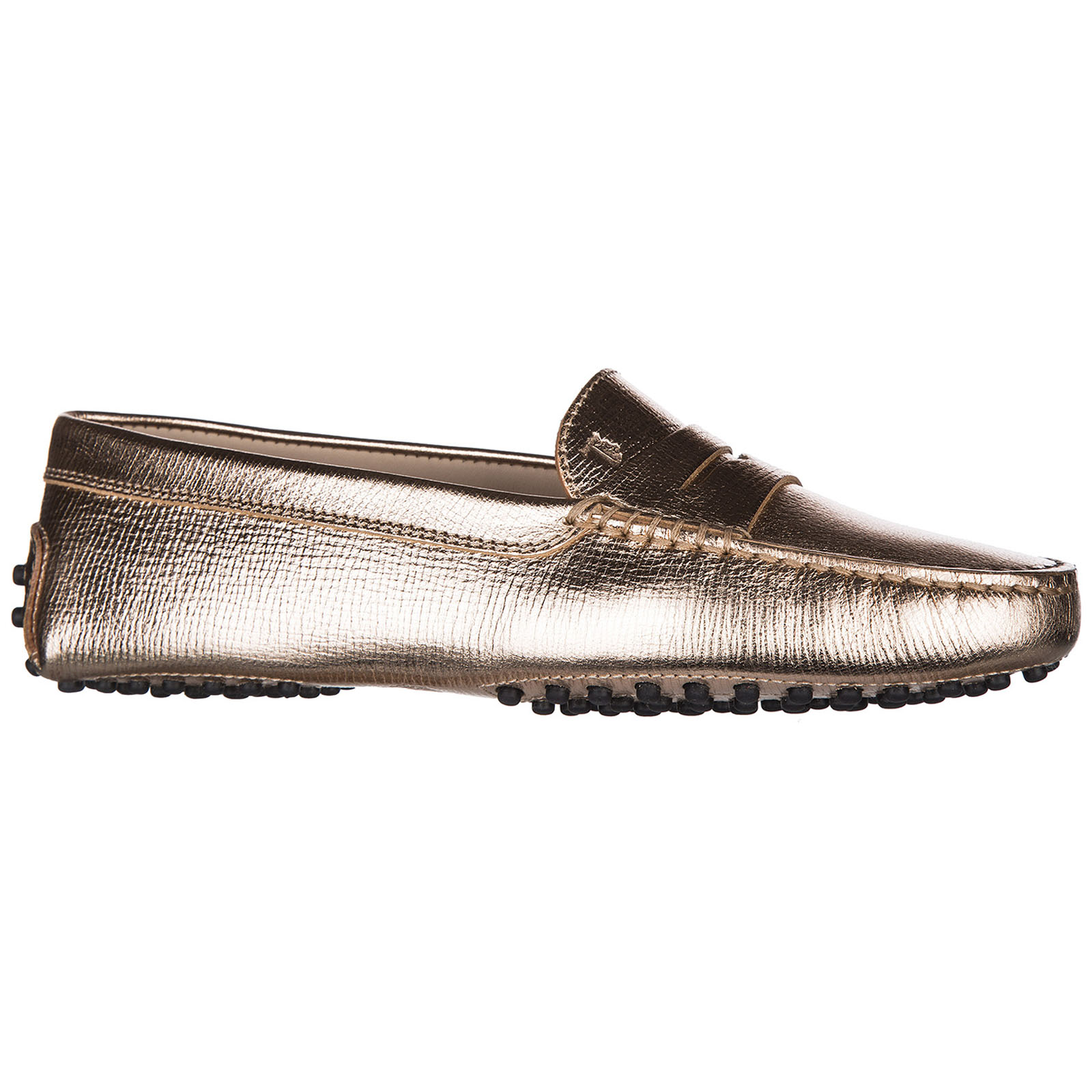 Women's leather loafers moccasins  gommini