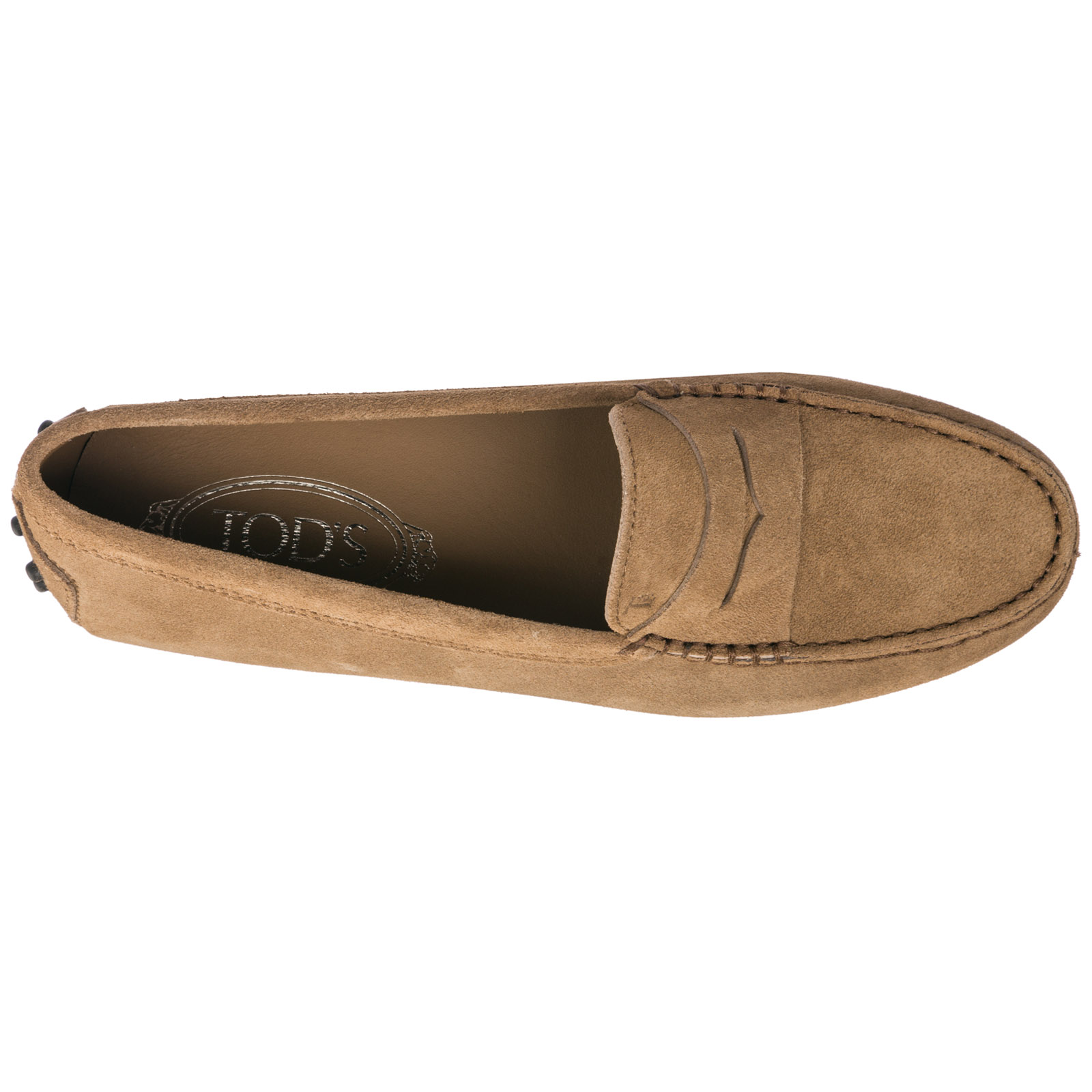 Women's suede loafers moccasins gommino