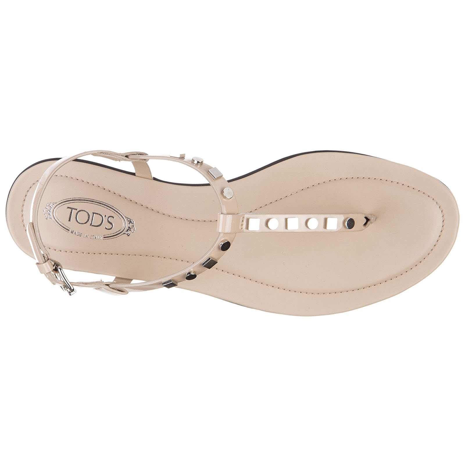 Women's leather flip flops sandals