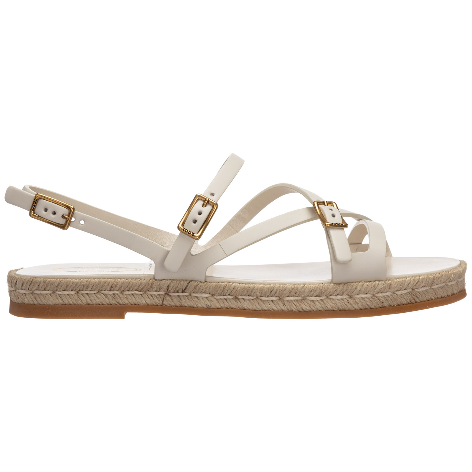 Tod's Leathers WOMEN'S LEATHER SANDALS