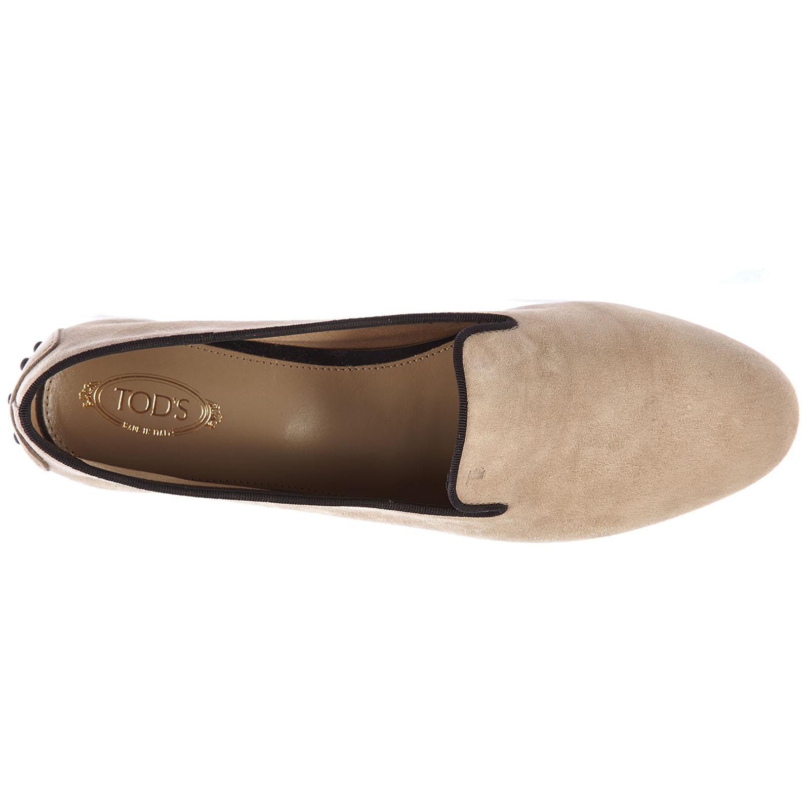 Damen wildleder mokassins slipper corda