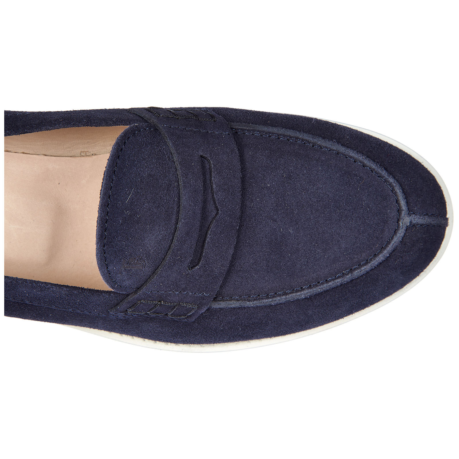 Damen wildleder mokassins slipper gomma vk