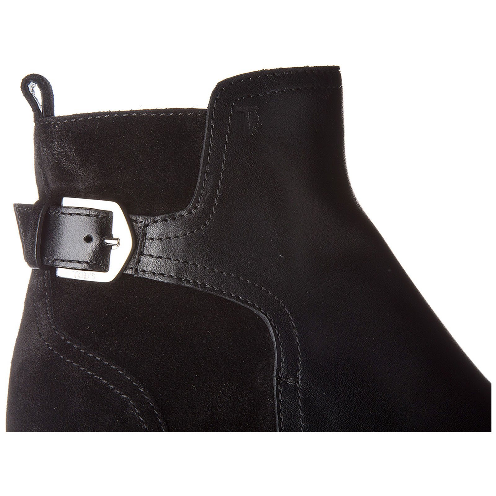 Women's leather heel'ankle boots booties