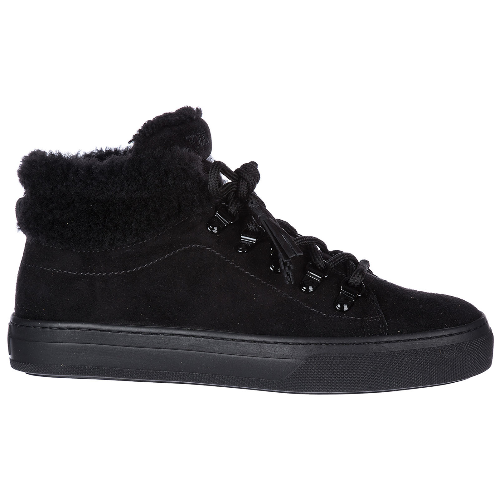 Women's shoes high top suede trainers sneakers sportivo