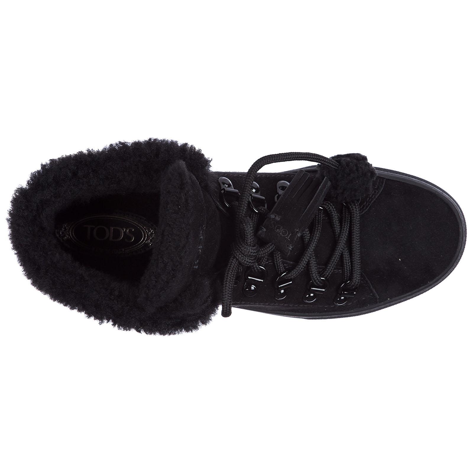 Zapatos zapatillas de deporte largas mujer en ante