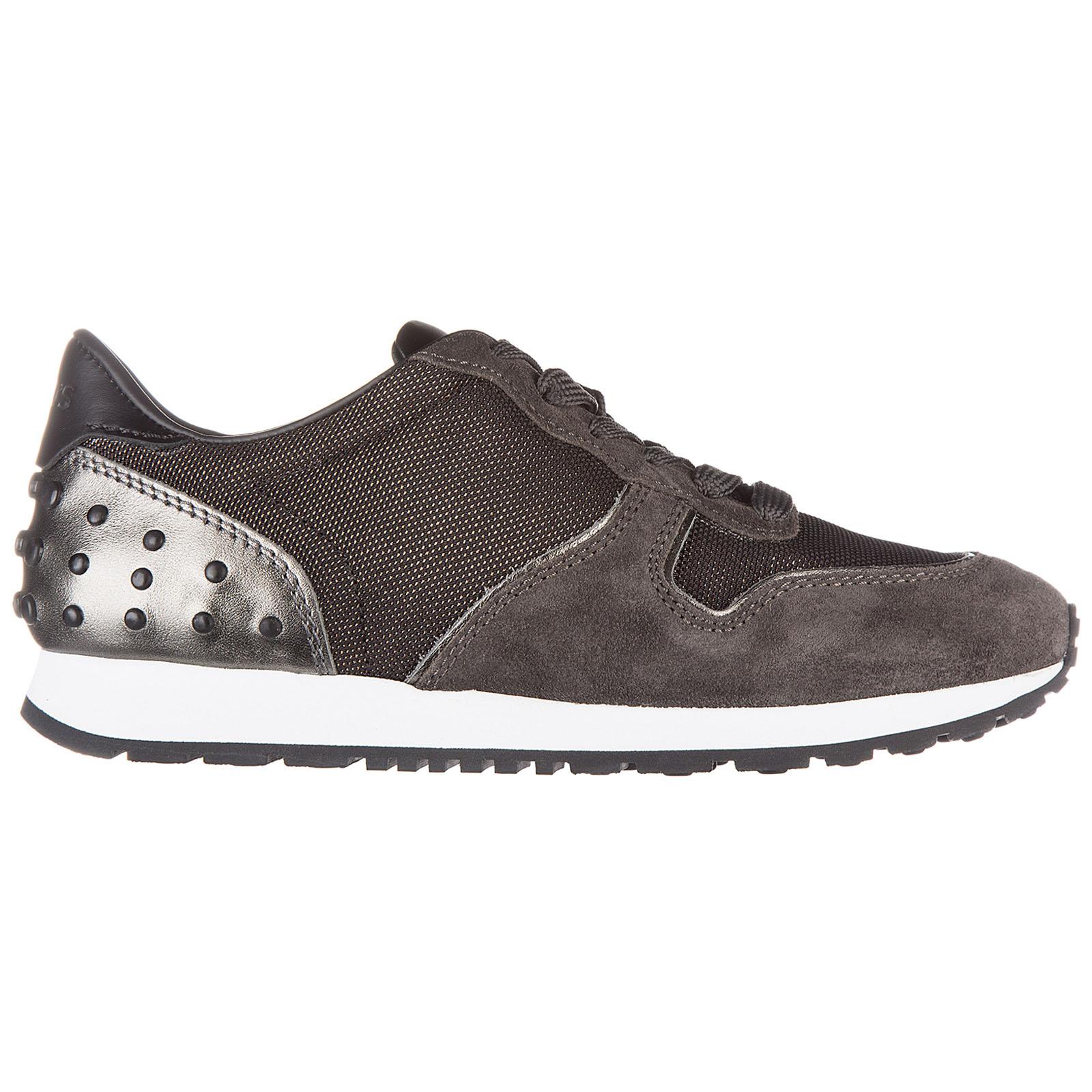 Zapatos zapatillas de deporte mujer en ante sportivo allacciata