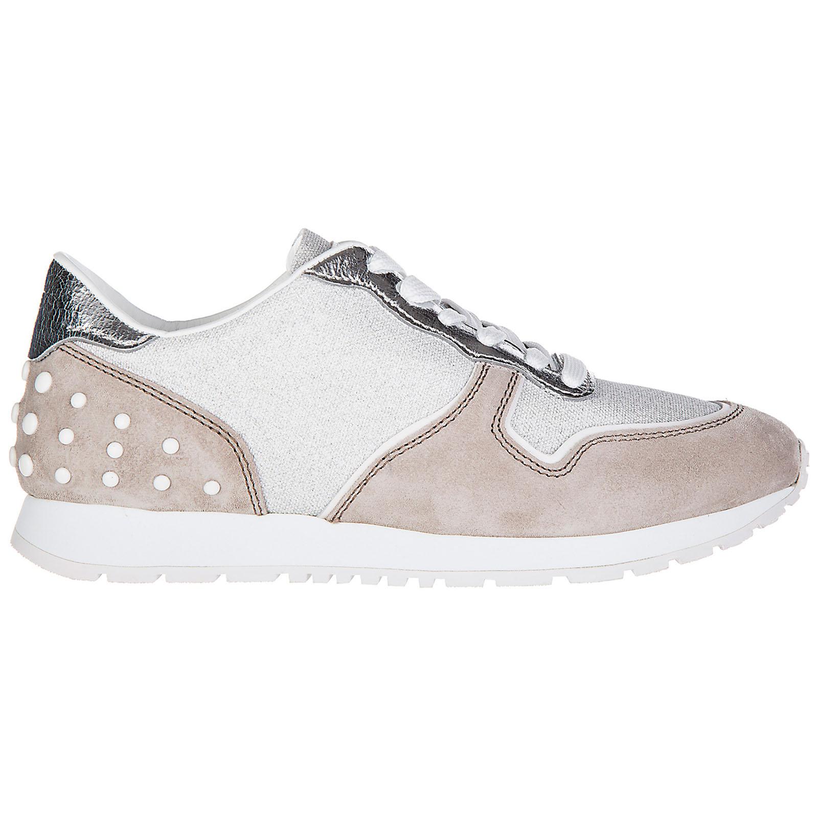 Zapatos zapatillas de deporte mujer en ante sportivo