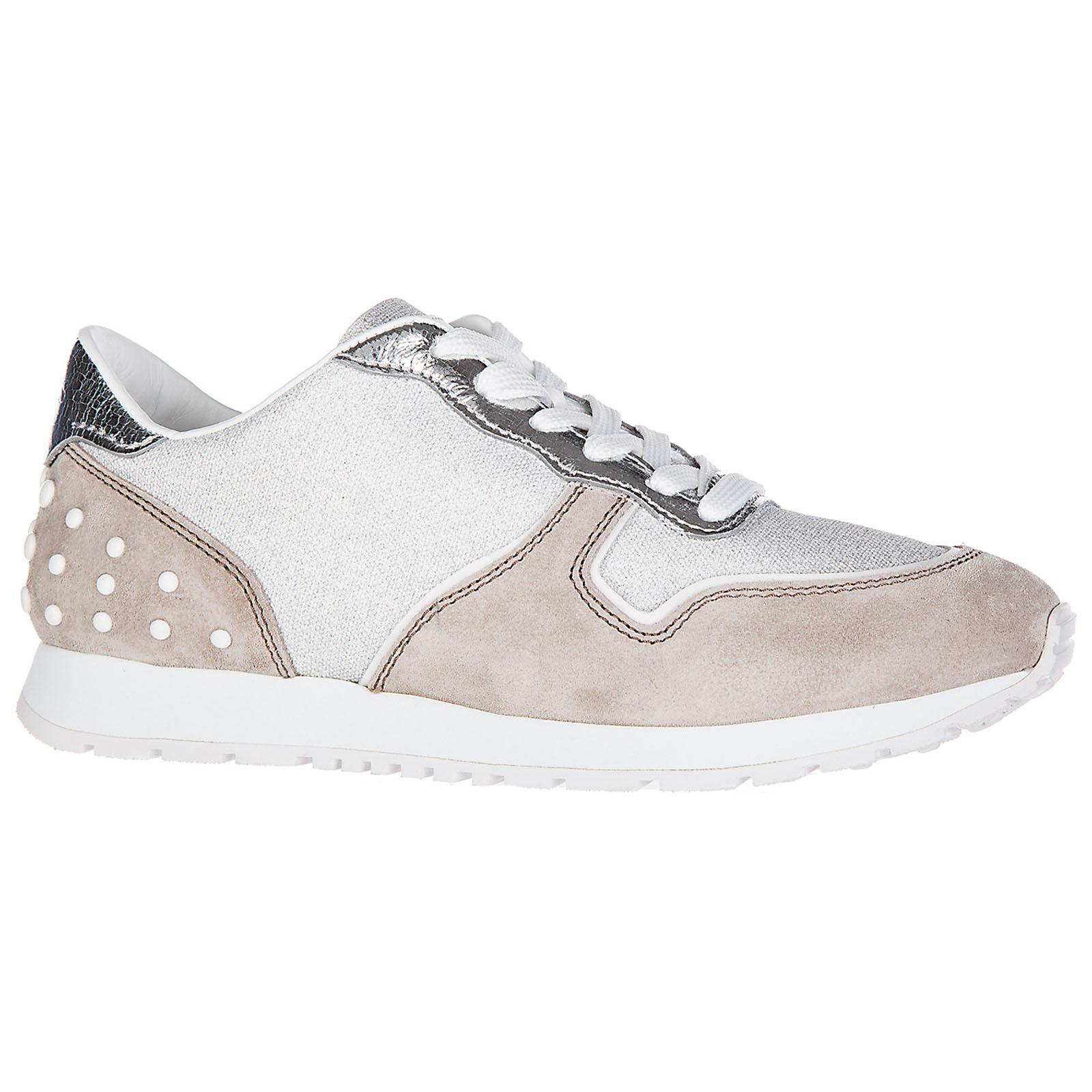 Chaussures baskets sneakers femme en daim sportivo