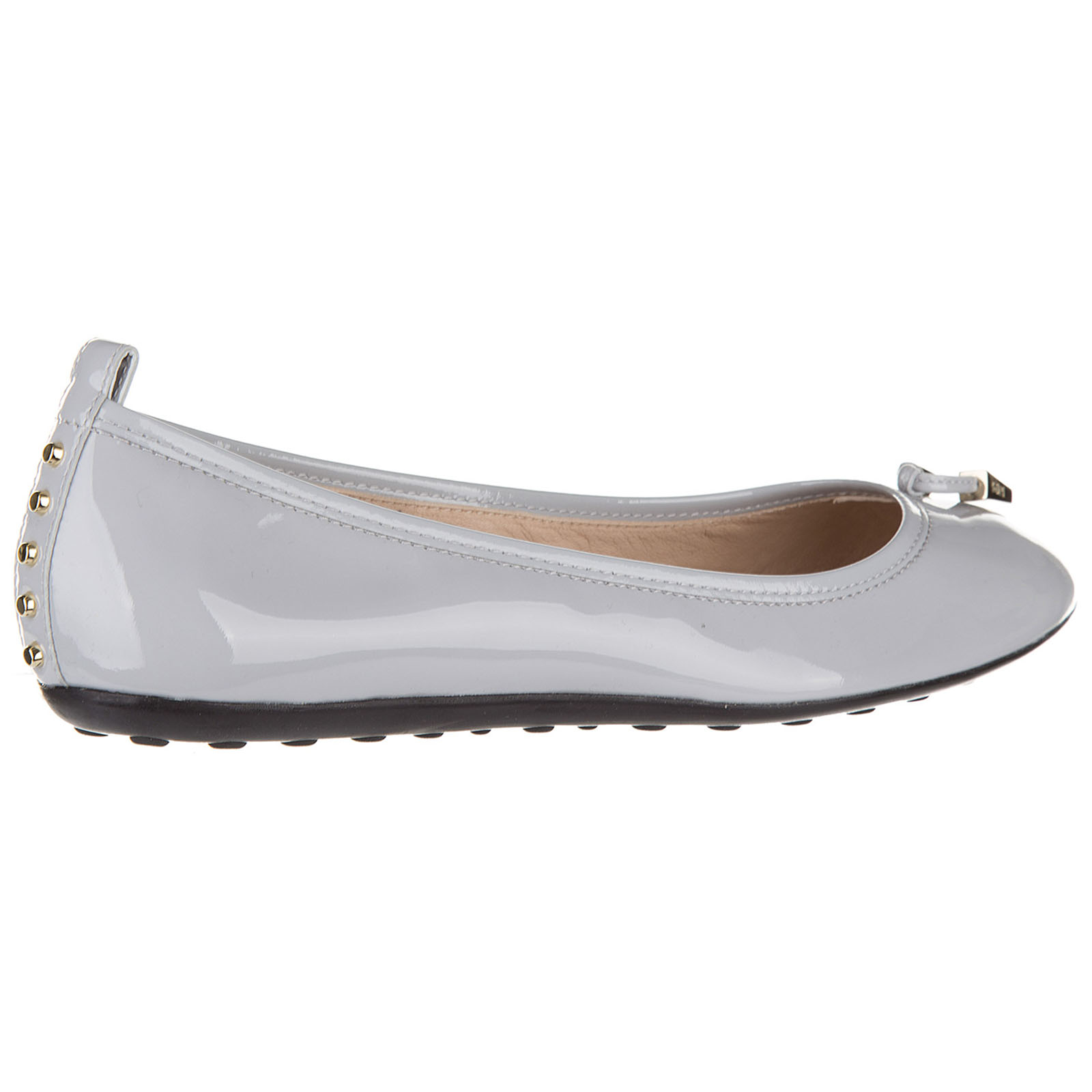Women's leather ballet flats ballerinas  des yh laccetto terminali