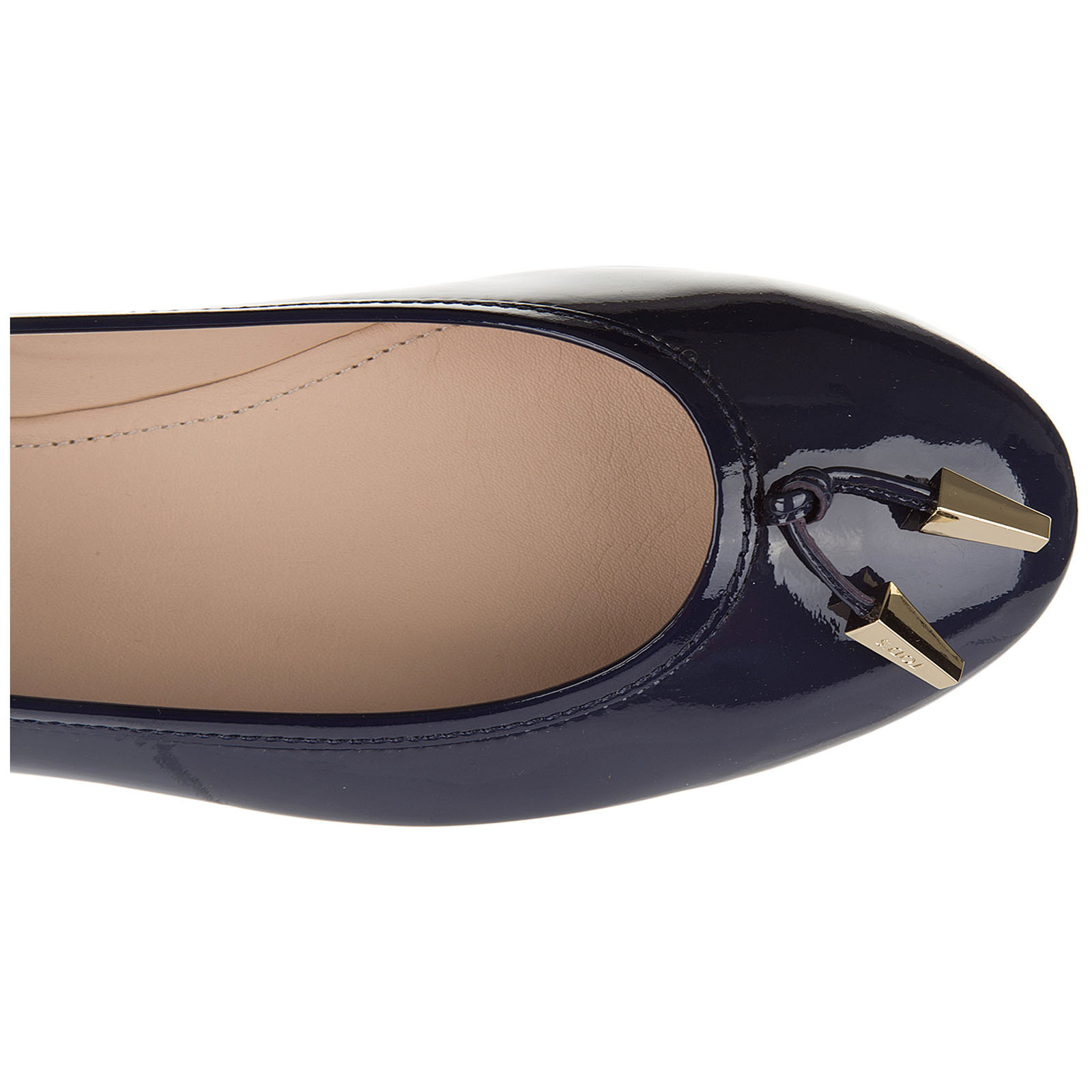 Damen leather ballet flats ballerinas  des yh laccetto terminali