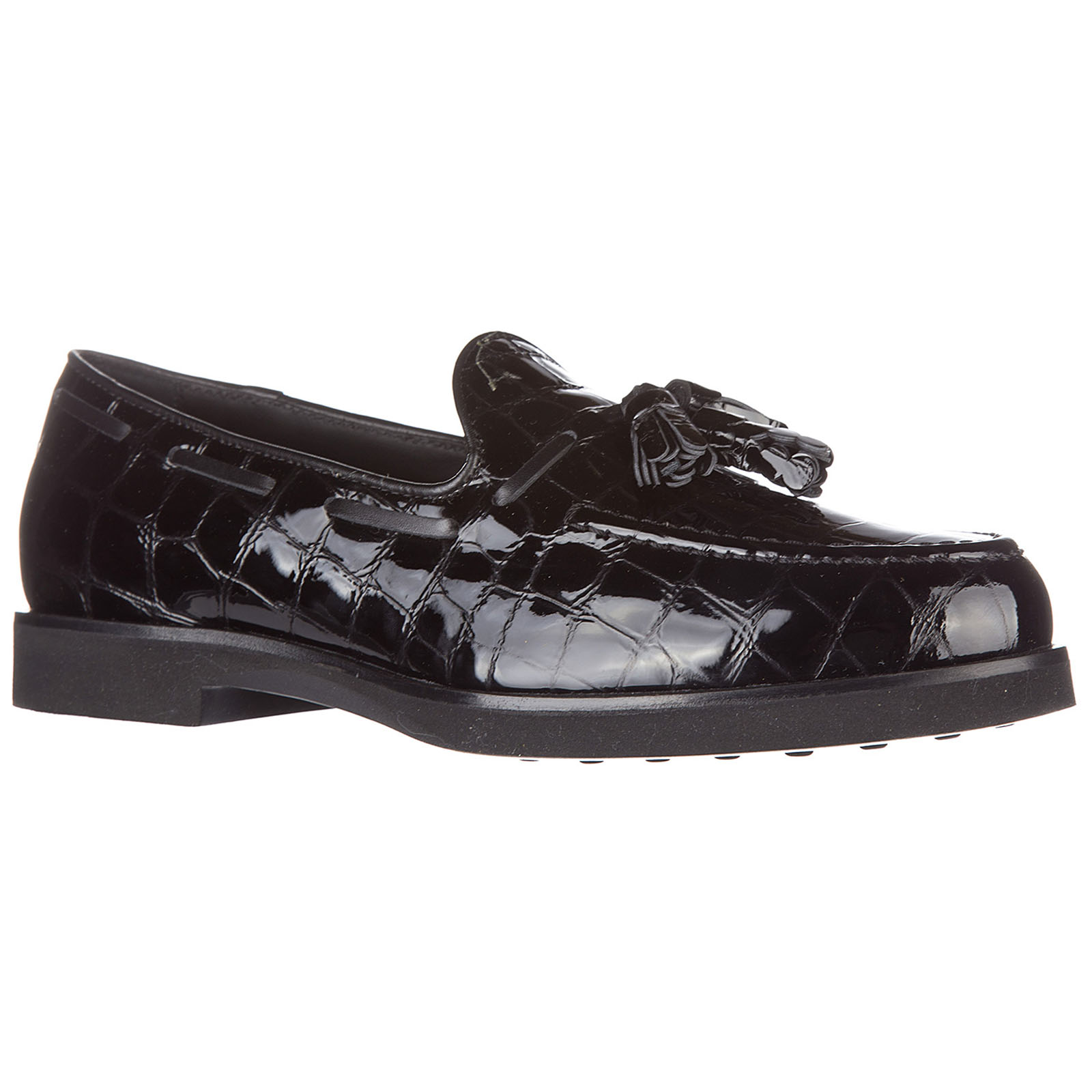 Women's leather loafers moccasins  gomma xl nappine