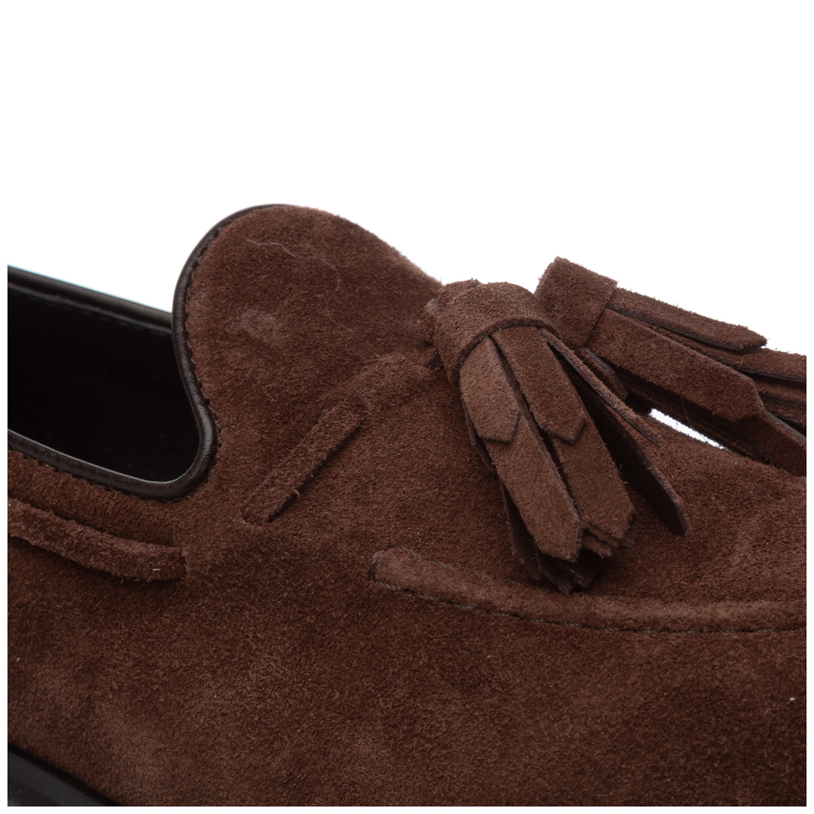Women's suede loafers moccasins