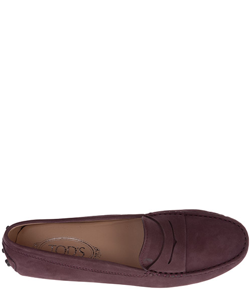 Women's suede loafers moccasins gommini secondary image