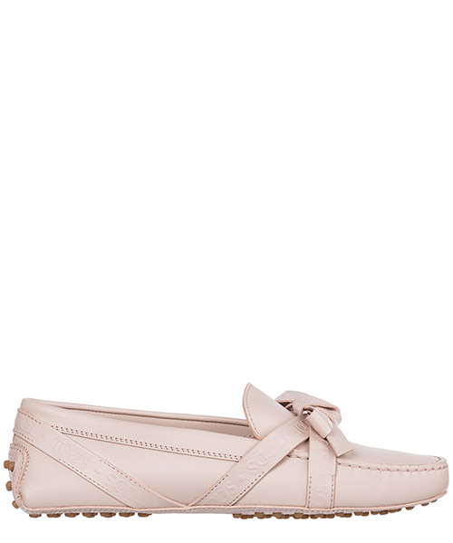 Mocasines Tod's Gommino XXW00G0AT40NB5M025 rosa